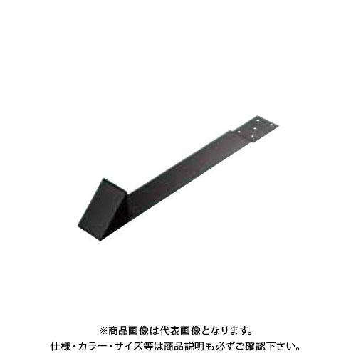 スワロー工業 D403 430ステン 黒色 三角コロニアル雪止 (50入) 0104720