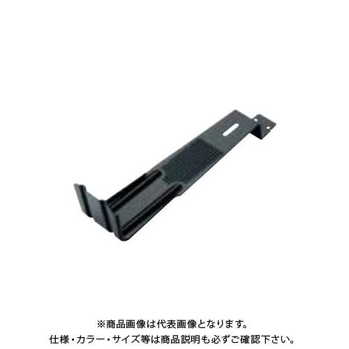 スワロー工業 430ステン 黒色 スタウト1号 平板瓦用雪止 (100入) 0115510