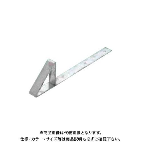 スワロー工業 D314 ドブ 生地 三角アングル雪止 小 L250 釘打 (100入) 0180800