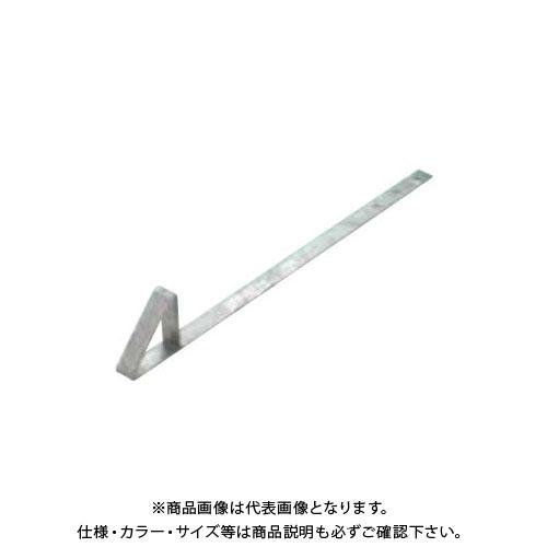 スワロー工業 D315 ドブ 生地 三角アングル雪止 大 L450 釘打 (100入) 0180900