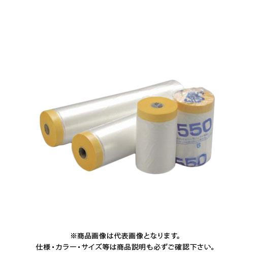 【直送品】エムエフ 和紙テープ付養生マスカー (60巻入) 1100×35m F12-021