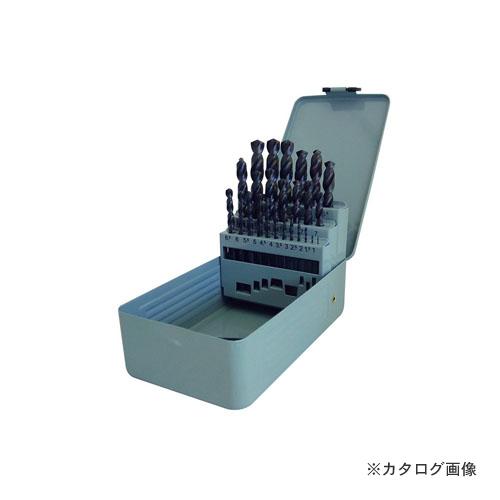 アックスブレーン コバルト鉄工ドリルセット25本組 1.0~13.0mmまで0.5とび ACD-SET25