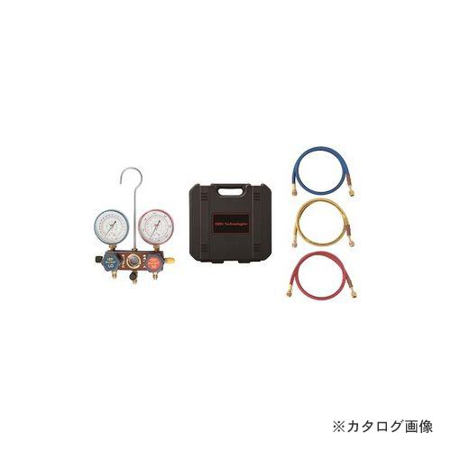 BBK R404A/407C マニホールドキット (チャージングホース150cm仕様)1407-CMK-60 (203-1622)