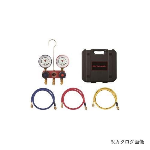 BBK R410A ヒートポンプ対応マニホールドキット チャージングホース150cm仕様 1410-HP-60 (203-1142)