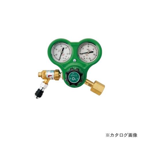 BBK 酸素レギュレーター (逆火防止器付ネジ式) B7C (606-0664)