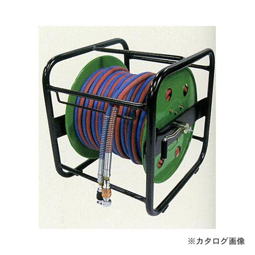 【30%OFF】 カプラー式 20m BBK (303-0628):工具屋「まいど!」 ブルーパックS用 SDGリール巻きツインホース C13-DIY・工具