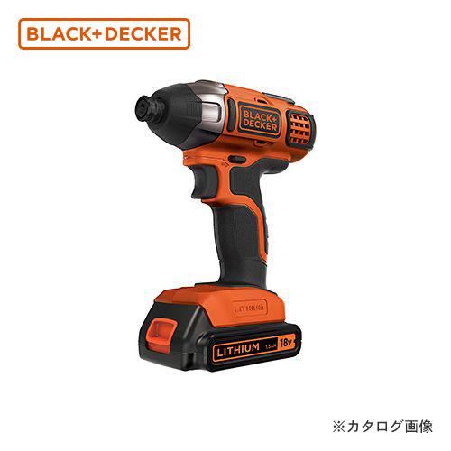 ブラックアンドデッカー BLACK&DECKER コードレスインパクトDV BPCI18-JP 589004