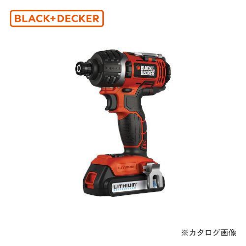 ブラックアンドデッカー BLACK&DECKER 18Vインパクトドライバー EXI-18-JP 589056