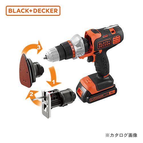 ブラックアンドデッカー BLACK&DECKER EVO 18Vマルチツール ベーシック EVO183B1- JP 589080
