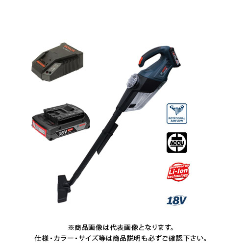 ボッシュ BOSCH GAS18V-1 コードレスクリーナー 18V 3.0Ah バッテリークリーナー フルセット