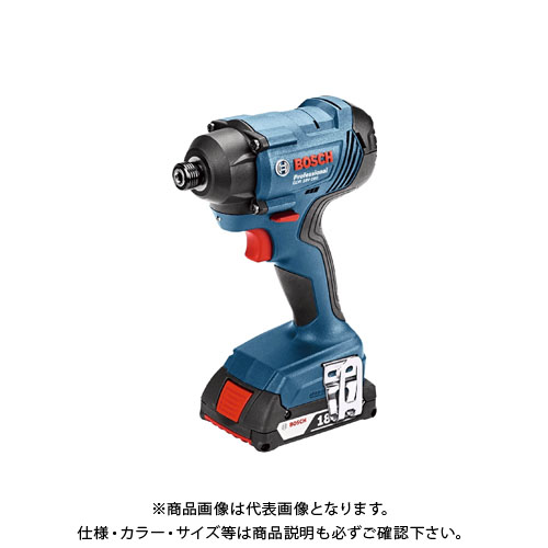 【当店限定販売】 BOSCH コードレスインパクトドライバー GDR18V-160:工具屋「まいど!」 ケース・バッテリー2個・充電器付 ボッシュ-DIY・工具