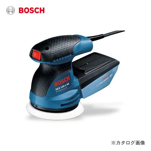 【イチオシ】ボッシュ BOSCH GEX125-1AE 吸じんランダムアクションサンダー