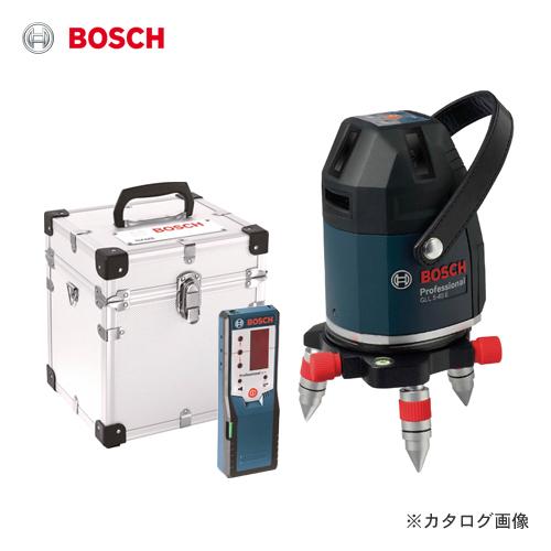 ボッシュ BOSCH GLL5-40ELR レーザー墨出し器(アルミ製キャリングケース・受光器付)