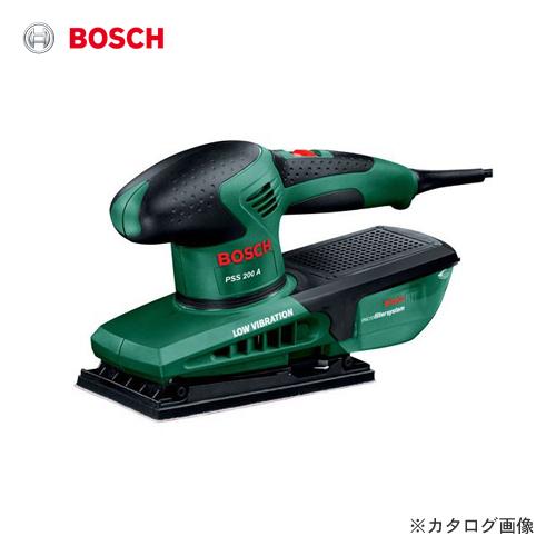 ボッシュ BOSCH PSS200A 吸じんオービタルサンダー