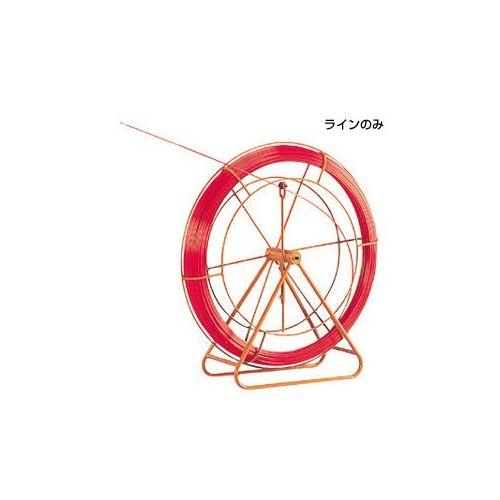 【直送品】デンサン DENSAN ファイバーレッドライン(線のみ) 10φ・200m RG-1020