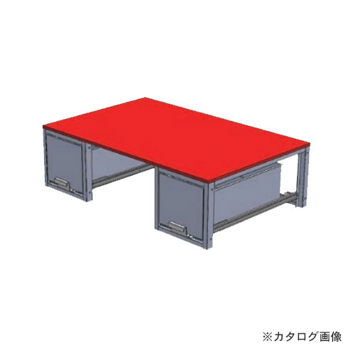 【直送品】デンサン DENSAN バンキャビネット(連結引き出し) SCT-DSET-C