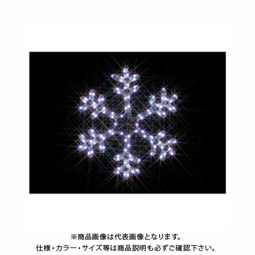 (雪の結晶(小・白)) SJ-C101W-JT ジェフコム LEDジョイントモチーフ JEFCOM