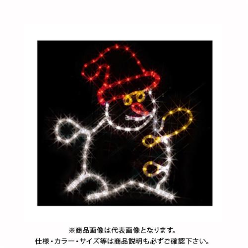 ジェフコム JEFCOM LEDジョイントモチーフ (雪だるま) SJ-C14-JT