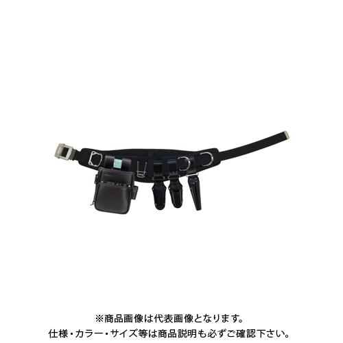 デンサン DENSAN ハイグレードレザー腰道具セット カーブタイプ JNDSW-R300AB-SET