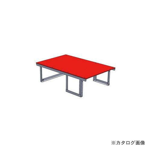 【直送品】デンサン DENSAN システムキャビネット テーブル SCT-T08
