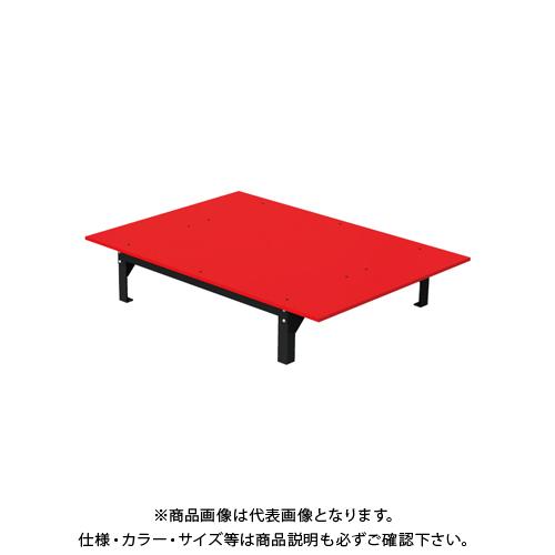 【直送品】デンサン DENSAN バンキャビネット(テーブル) 1400×1000×265mm SCT-T09