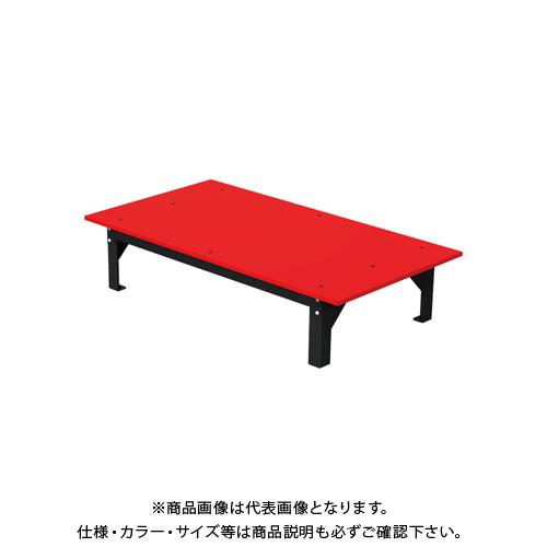【直送品】デンサン DENSAN バンキャビネット(テーブル) 1200×650×265mm SCT-T11