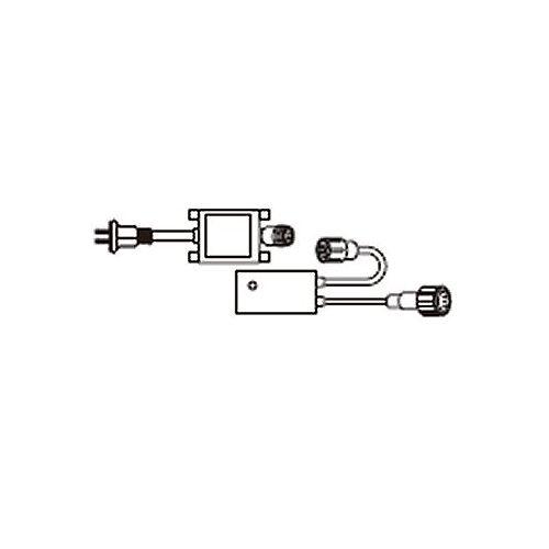 ジェフコム JEFCOM LEDソフトネオンオプションパーツ コントローラー(ACアダプタ付属) PR3L-C60-08P
