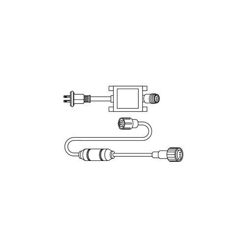 ジェフコム JEFCOM LEDソフトネオン 整流器(セット) PR3L-D60-01P
