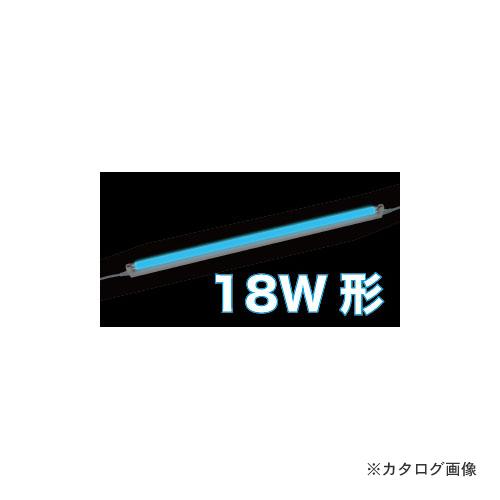 ジェフコム JEFCOM LEDパラスリム用交換ランプ 青(18W形) LT5-18B