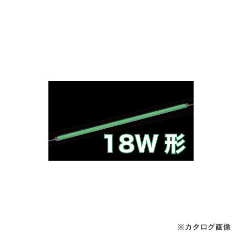 ジェフコム JEFCOM LEDパラスリム用交換ランプ 緑(18W形) LT5-18G