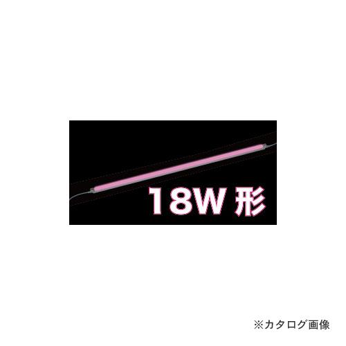 ジェフコム JEFCOM LEDパラスリム用交換ランプ ピンク(18W形) LT5-18P