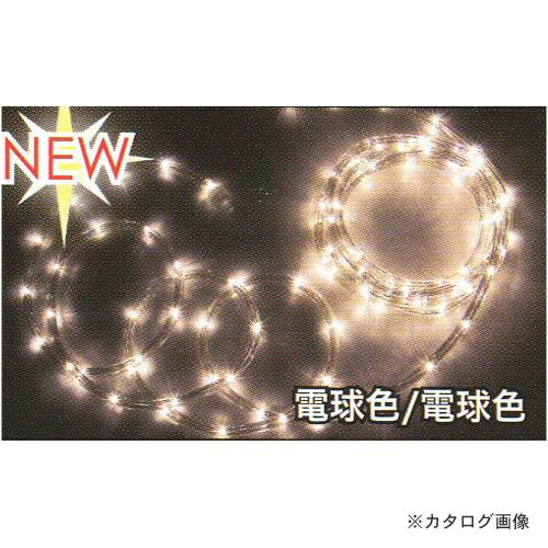 ジェフコム JEFCOM LEDソフトネオン 64m 電球色(ロッドのみ) PR3L-E24-64LL