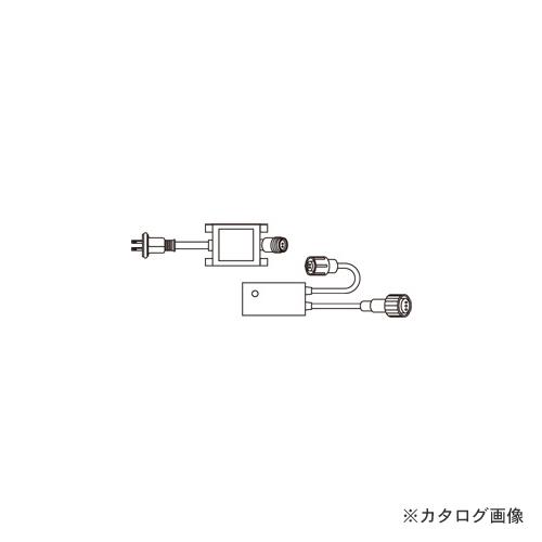 ジェフコム JEFCOM LEDソフトネオン 点滅周期コントローラー(セット) PR3L-F60-08P