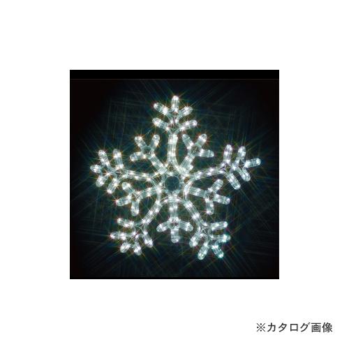 ジェフコム JEFCOM 雪の結晶(白・白) SJ-C103WW-JT