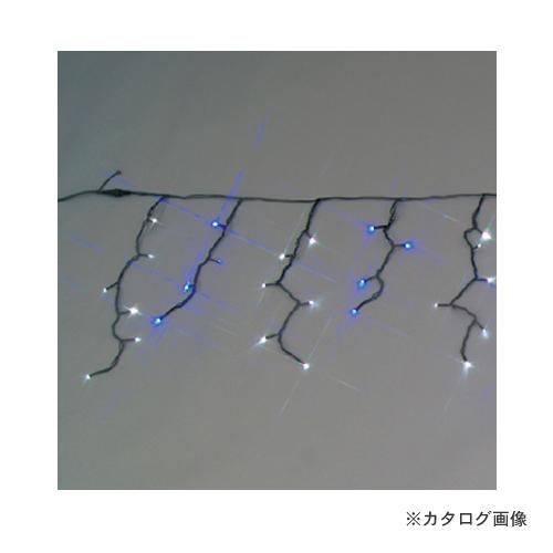 ジェフコム JEFCOM LED アイスクルカーテン 2色タイプ(白・青) SJ-EA20-0506WB