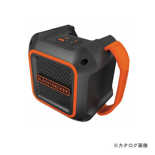 BLACK&DECKER 18V Bluetoothスピーカー BDCSP18