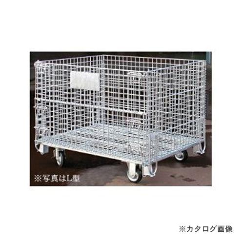 【運賃見積り】【直送品】 伊藤製作所 123 かご型パレットL型 1台 PM-LC