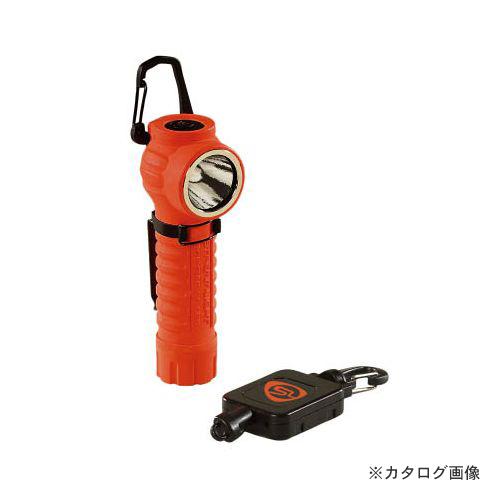 ストリームライト STREAMLIGHT ポリタック90 LED(オレンジ) 自動巻上コード付 88832