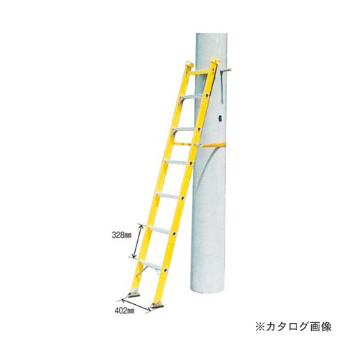 【直送品】ナカオ 昇柱はしご SBF-2.3