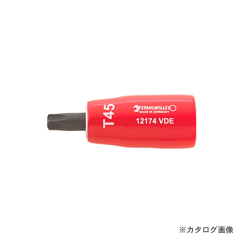 スタビレー STAHLWILLE 12174VDE-T30 3/8SQ 絶縁ヘクスローブ 02390030