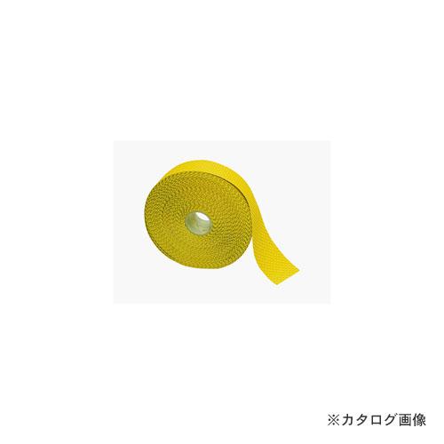ワテレ WATTELEZ 81.18.60J/100 工場用安全テープ 黄 5.5MX100