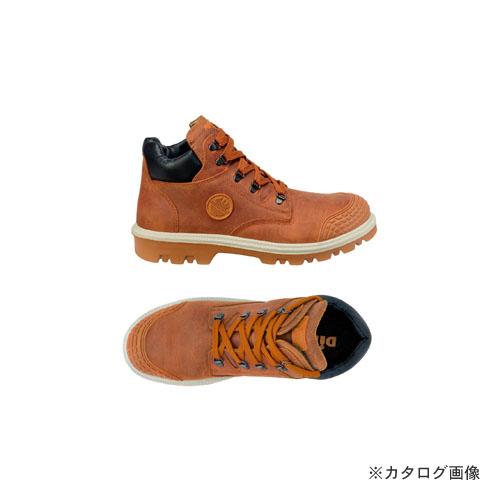 ダイケ DIKE 21021-403-38 作業靴ディガーブラウン25.5cm