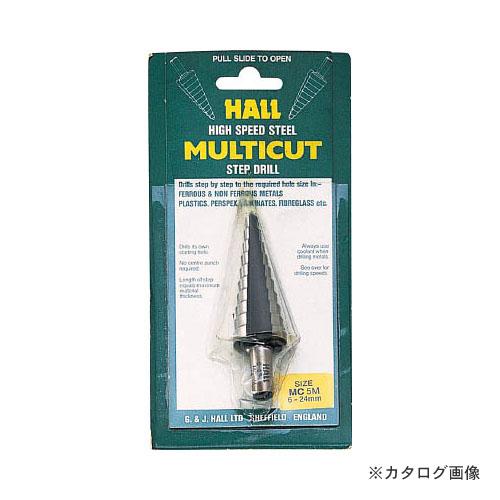 G&J HALL TOOLS MC2MX .六角シャンクステップドリル 10-20mm