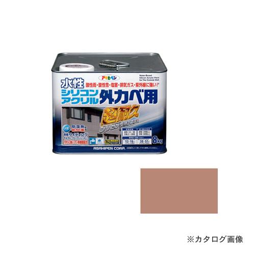 アサヒペン AP 水性シリコンアクリル外かべ用 8KG ソフトオーカー, 松ちゃん堂 aeff306d