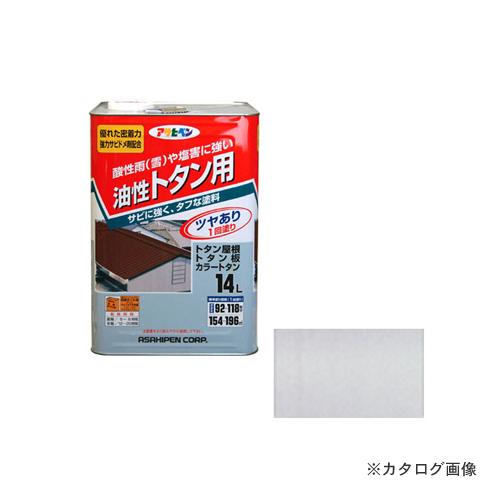 アサヒペン AP トタン用 14L 銀