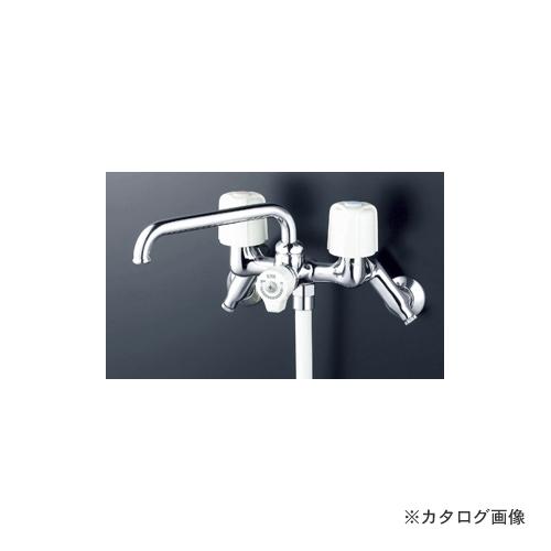KVK KF104W 寒 止水2ハンドルシャワー