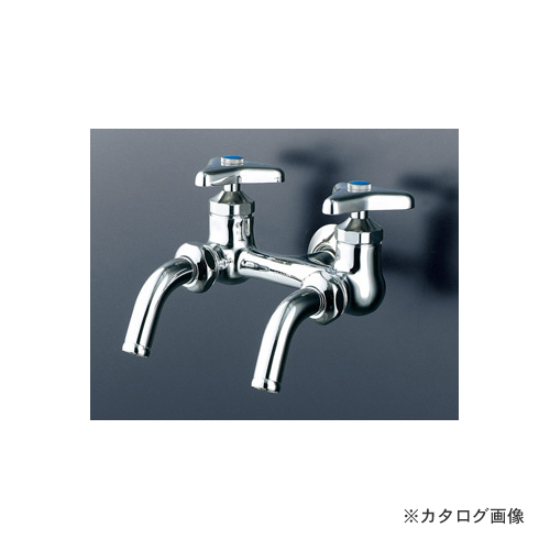 KVK K112-JAN 二口吐水回転水栓