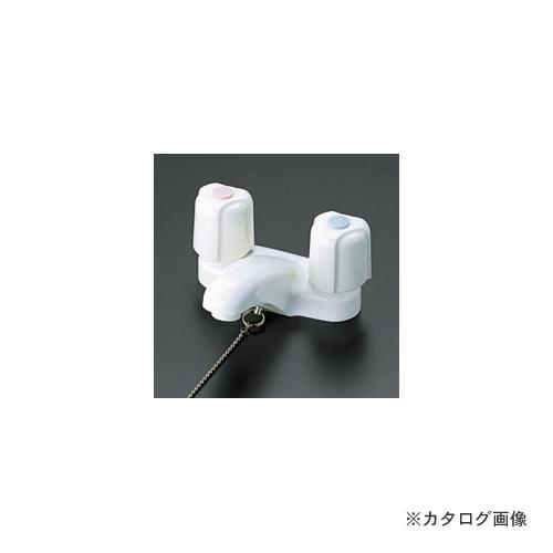 KVK KM66HPZ 寒 洗面2ハンドル混合栓 ポップ