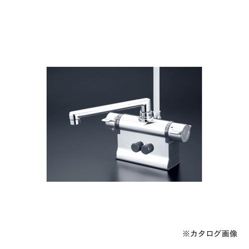 KVK KF3011ZT 寒 デッキサーモシャワー 190パイプ
