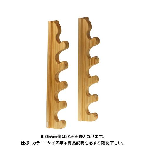 ライフサーブ アクアリデオ EASY RAKE for Rod ウェーブフォーム 5段 (クリア) 2本1セット
